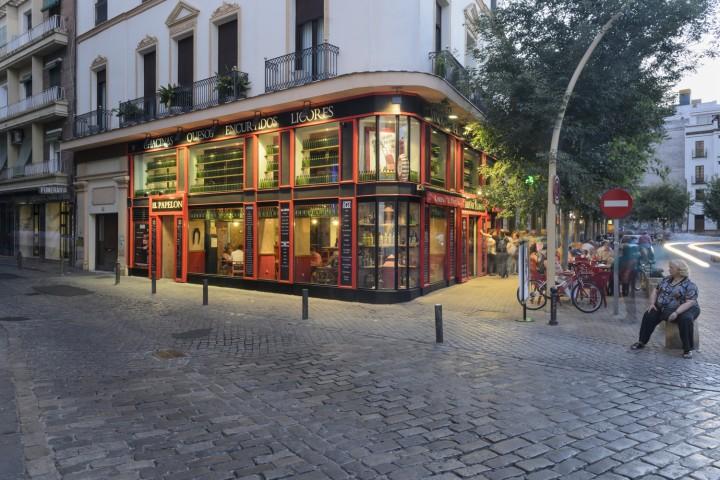 Taberna el  Papelón Sevilla Alameda Persevera Producciones