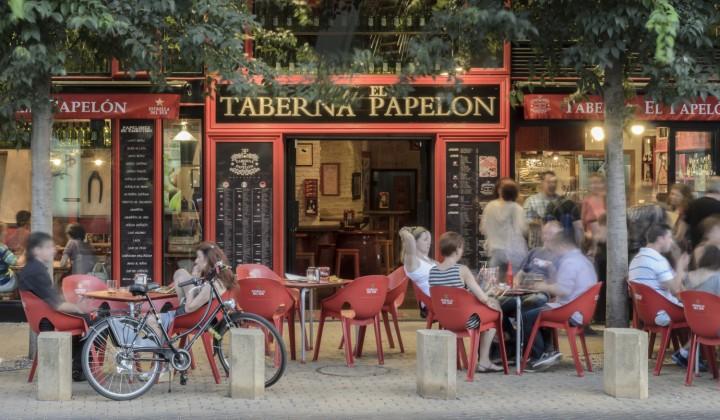 Taberna el  Papelón Sevilla Alameda Persevera Producciones Alameda Sevilla