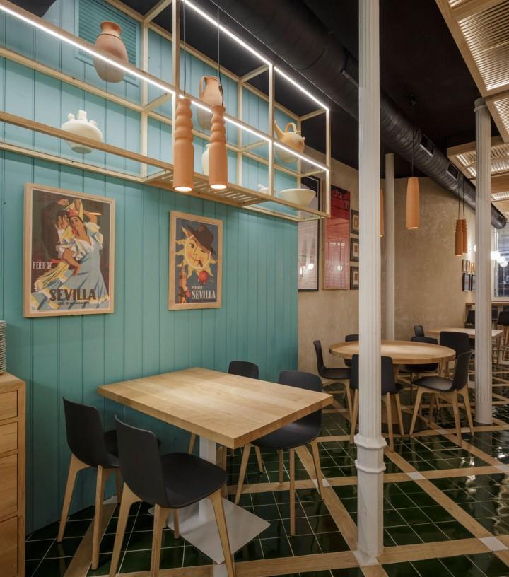Papirusa Persevera Producciones Sevilla Restaurante